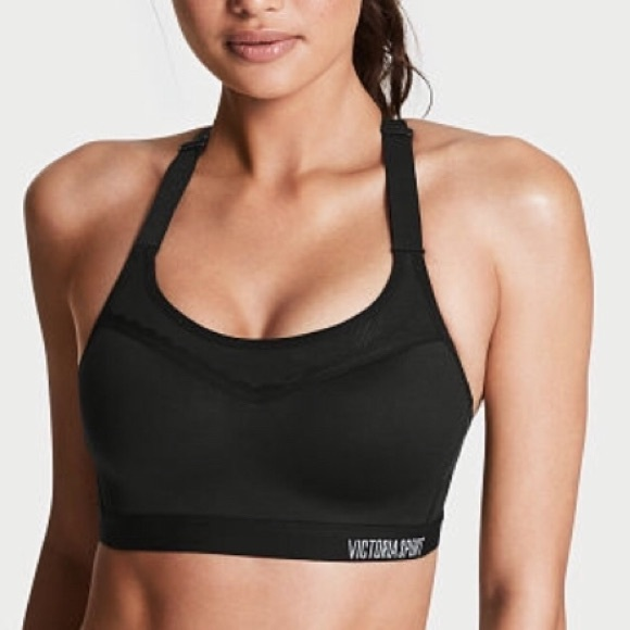 NEW Victoria/'s Secret VS The Incredible Lightweight Max Sport Bra Gray